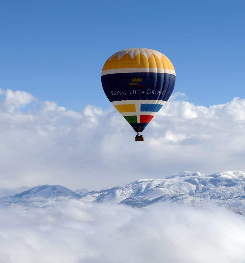 Ballonfahren in den Pyrenäen