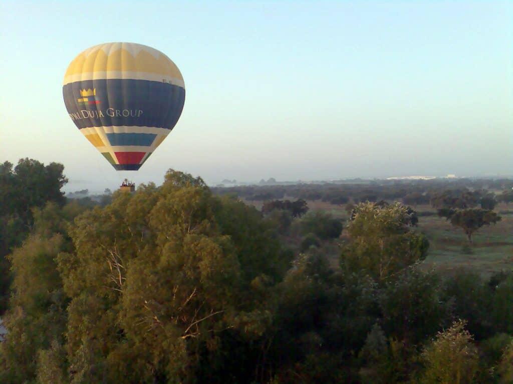 Ballonfahrt auf Mallorca