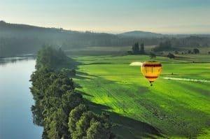 Ballonfahren in Galizien, Asturien und Kantabrien