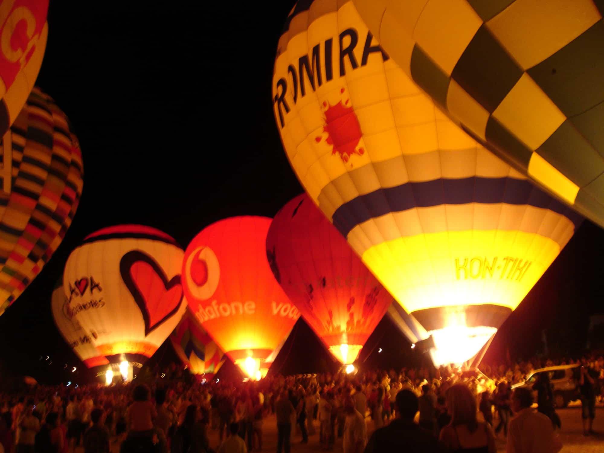 Heißluftballonfahrt in Murcia und Valencia